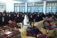 Career Counseling and future prospect Seminar in Govt. Girls Comprehensive Higher Secondary School, Abbottabad December 11, 2015
