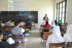 Career Counseling Session by Dr. Amjad Hassan in Govt, Graduate college NO (1) for boys ATD April 12, 2016