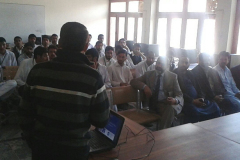 Career Counseling  Session by Dr. Zulfiqar A. Bhatti in Govt. Boys  Degree College Havelian March 07,2016