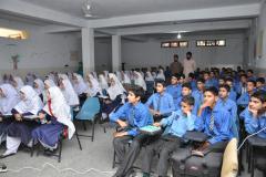 Career Counseling talk in Rehmania Public School, Abbottabad by Syeda Shaima Meryem PhD student (ES) June 08, 2016