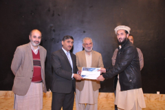 CUI Abbottabad's staff Grade Employees' Acknowledgment of Services Ceremony November 22, 2017