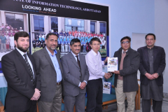 Delegation from North West Polytechnical University Xi'An China January 14, 2018