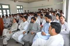 Dr. Talat Nazir Public outreach in Govt. Boys degree College in Sherwan October 04, 2016