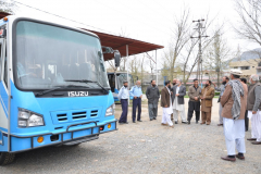 Dua for Inauguration of new buses March 16, 2016