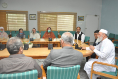 Farewell Party by Administration to Prof Dr Syed Amjad Farid Hasnu