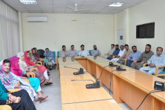 Farewell party Given to Wazir Muhammed by CS Dept. August 03, 2016