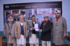 Farewell to Syed Nadeem Bukhari, Department of Management Sciences 8 February 2019