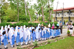 Govt. Primary School for Girls, Dhamtour visit the Campus April 19, 2016