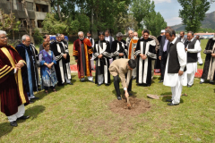 Ground Breaking Ceremony of Construction of Pakistan Sweet Home April 23, 2012