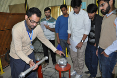 High Voltage Lab facilities Provided to Student  of PIEAS by ERC- March 16,2016