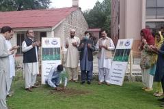 Honorary Saplings under Pak-China Friendship Tree Plantation Campaign 2020