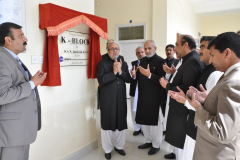 Inauguration Ceremony K Balok, new Set-up in Z-Block Class rooms, and Surveillance room April 04,2016