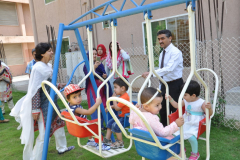 Inauguration of Day Care play land June 12, 2017