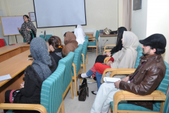 Information Session by Ms. Maria Umar CEO Woman Digital League February 17, 2016
