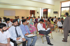 """Lecture delivered by Director CIIT Abbottabad in FDA Workshop on """"Teachers as a Role Model for Society July 27, 2015"""