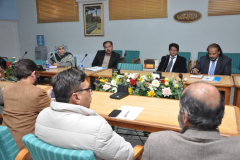 Manager (P, D & HRD Ayaz Mehmood & team visited CIIT ATD for a meeting December 27, 2016