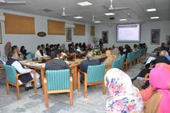 Oral PhD Defence of PhD Scholar Ms. Rizwana Sarwar. CIIT/ FA09-r66-003/ ATD 14th November 14, 2016