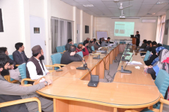 PhD Defense of Scholar Mr Sajid Aqeel February 16, 2018