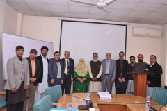 PhD Defense of Scholar Ms Aamna Shah, Department of Pharmacy