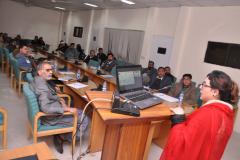 PhD Defense of Scholar Ms Zobia Anwar, Department of Environmental Sciences