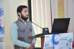 Present Around the World (PATW) Competition  Organized by IET on Campus CIIT Abbottabad