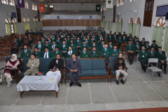 Presentation Prof. Dr. Shahid Khattak in Pakistan International Publc School and boys College, Abbottabad on Augmented Humans February 19, 2016