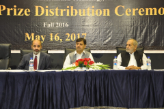 Prize Distribution Ceremony Fall 2017 May 16, 2017