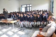 Pubic Outreach:  Dr. Imran Naseem gave a talk at Govt. high School boys Dhamthor December 06, 2016