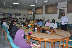 Seminar Organized by Chemistry Department June 25, 2014