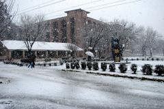 Snow Falling CIIT Abbottabad February 09, 2010