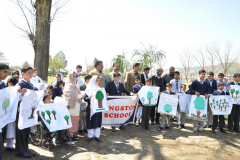 Tree Plantation by Forest Department and Special Children March 21, 2016