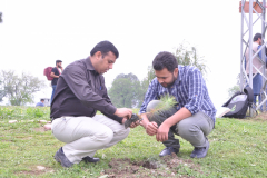 Tree Plantation Drive by Department of Environmental Sciences April 11, 2019