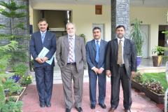 Visit by HEC team from Islamabad August 25, 2016