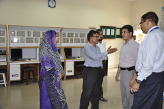 Visit of Dean Electrical Engineering Department to CIIT Abbottabad August 17, 2015