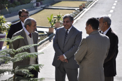 Visit of Rector CIIT Abbottabad January 2, 2014