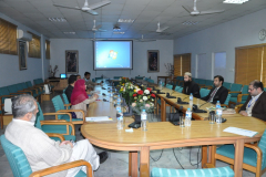 Visit of Representatives from CIIT   Attock for Campus CU Online  December 01,2015