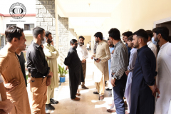 Visit of Students from University of Malakand August 2, 2021