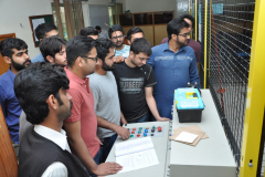 Visit of Students of PIEAS Islamabad to High Voltage Lab CIIT  ATD  May 3, 2017