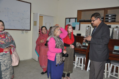 Visit of UK educationists, Ms. Stacey Pool November 5, 2015